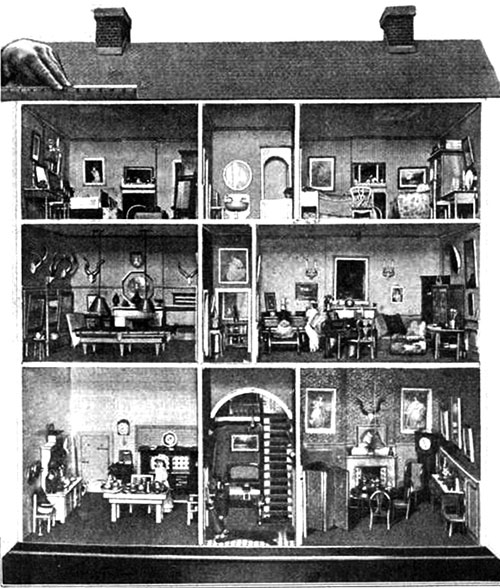 Antique Dollshouse. The Antique Dollu0027s House ...