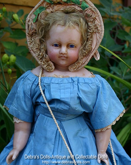 Montanari Poured Wax Doll