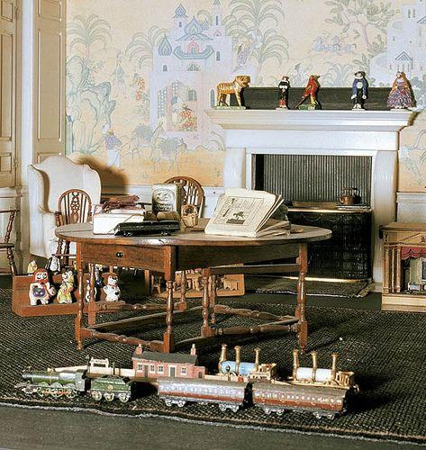 Dollhouse Miniatures Victoria Bc: Queen's Dolls House