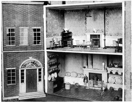Victorian Dollhouse And Miniatures