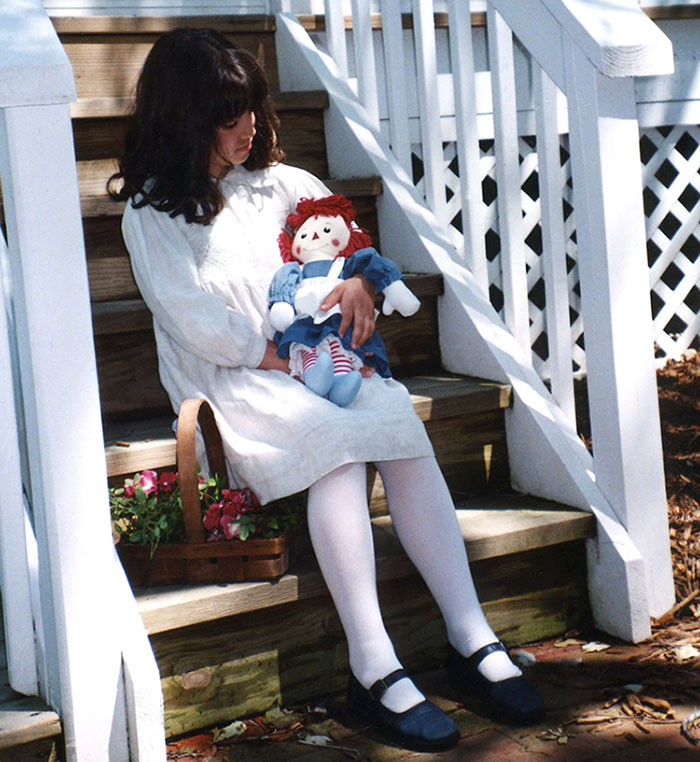 Vintage raggy ann doll
