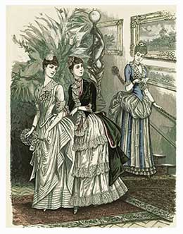 Clothing in the 1800s in america