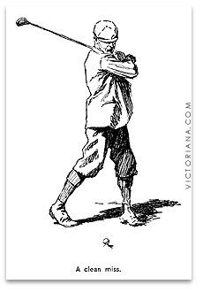 Golf Cartoon A B Frost Golf Cartoons