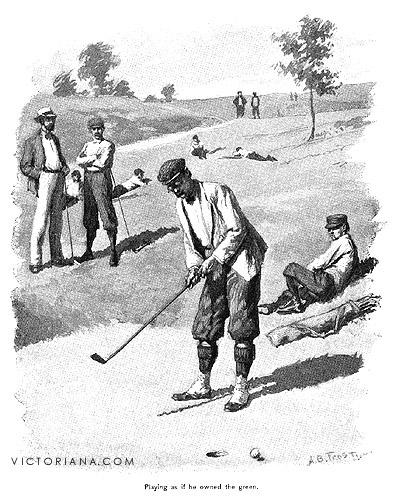 Golf Art A B Frost Golf Print