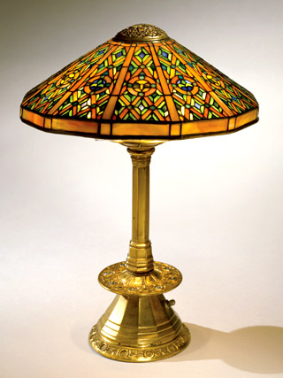 Tiffany Ninth Century desk lamp