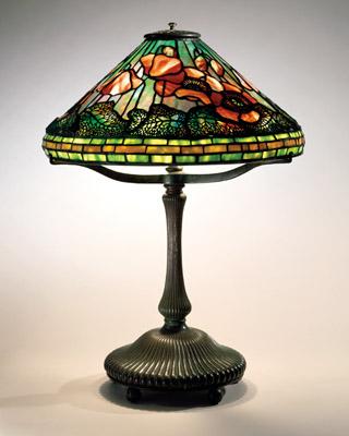 Tiffany Poppy Reading Lamp