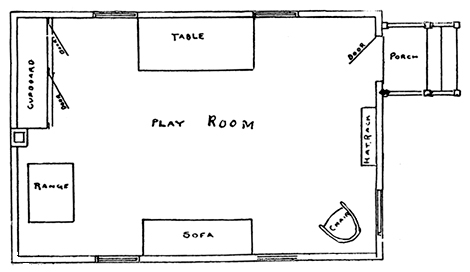 floor plans outdoor playhouses