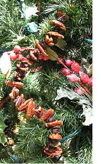 Raisin and Nut Garland