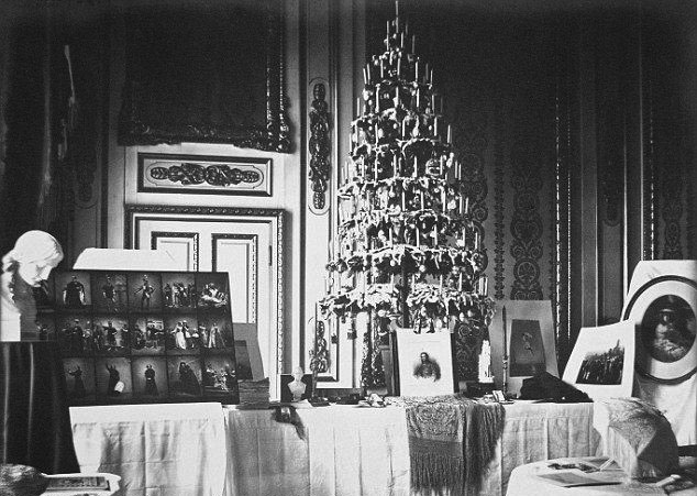 Victorian Christmas Trees at Windsor Castle