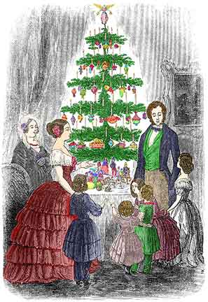 first victorian christmas tree