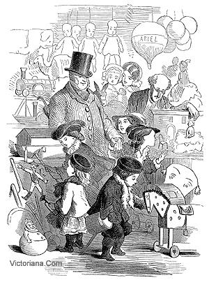 Victorian toy shop
