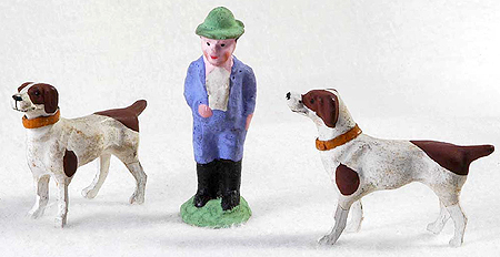 Christmas Putz Figures