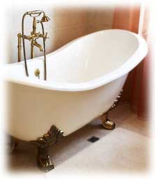 How to paint bath tub
