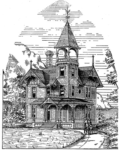 Cottage house plans victorian cottage Victorian cottage plans