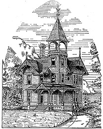 small victorian home plans