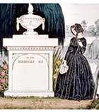 VICTORIAN MOURNING PRINT