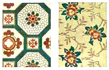 Floorcloths Antique Floorcloth Patterns