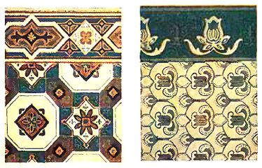 Floorcloths Antique Floorcloth Patterns
