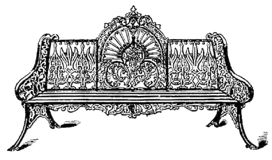 A Variety Of 19th Century Wrought Iron Benches