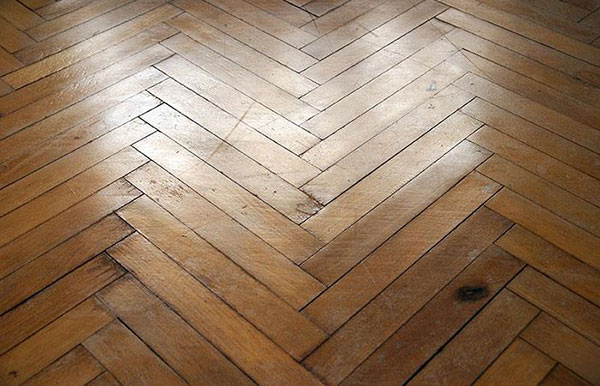 Antique Hardwood Flooring PHOTOS - When was parquet flooring popular
