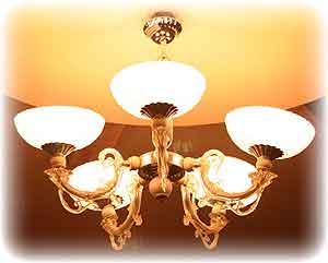 Antique Brass Chandeliers