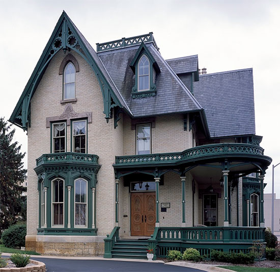 Impressive 60 victorian gothic house design inspiration for Gothic revival homes for sale