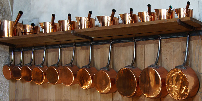 Hanging Copper Pots And Pans