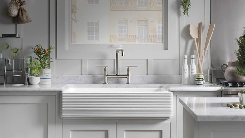 Beau Farmhouse Kitchen Sinks By Kohler