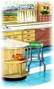 Kitchen Designs for a Vintage Kitchen (PICTURES) on red white and blue kitchen ideas, small shabby chic kitchen ideas, small cottage kitchen ideas, cabinet small kitchen remodel ideas, 1940s kitchen remodel ideas, vintage kitchen ideas, painted kitchen cabinet ideas,