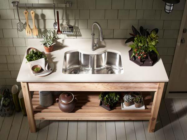 Kohler Farmhouse Kitchen Sink