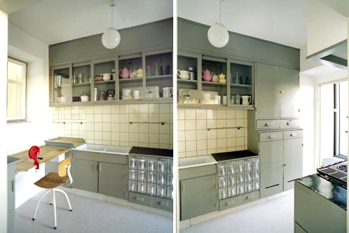 first two images  the exhibition centers on the famous  u201cfrankfurt kitchen u201d of 1927 one of the first high efficiency spaces designed for the home cook  kitchen designs for a vintage kitchen  pictures   rh   victoriana com