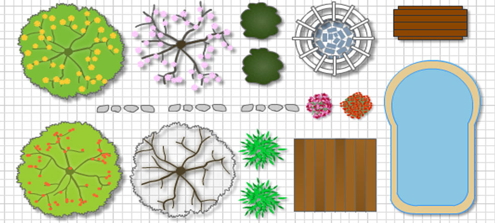 Free Garden Design Software garden design plans small garden design large garden garden plans The Best Landscaping Software Will Provide A Library Of Drag And Drop Icons Including Garden Design