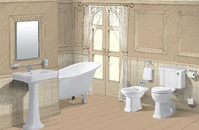 0 - Edwardian Bathroom Design