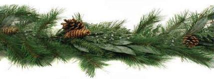 Evergreen Christmas.Victorian Christmas Evergreen Portiere Victoriana Magazine