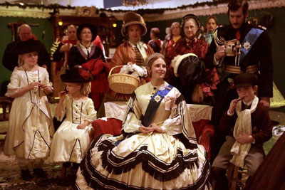 queen victoria Christmas