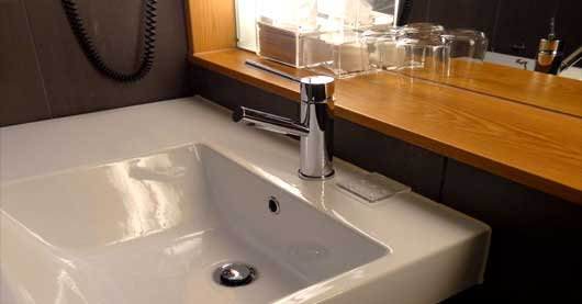 countertop vessel sink