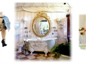 shabby chic bathroom design