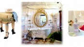 shabby chic bathroom design