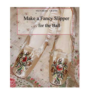 Make Your Own Victorian Shoes Victoriana Magazine