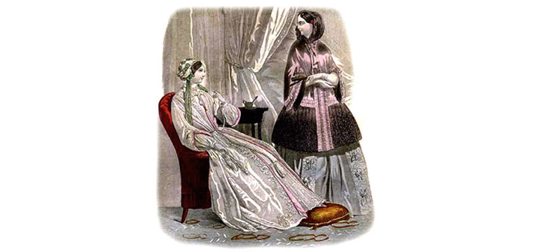 Pretty In The Morning Victorian Robes Victoriana Magazine