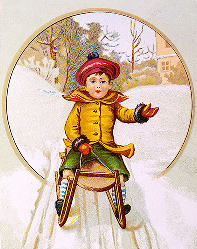 coasting sled