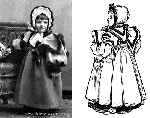 victoriancoats its cold outside! keeping warm in style victoriana magazine,Childrens Clothes Victorian Era