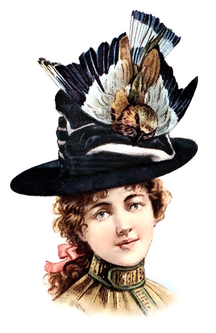 how to make victorian hats - photo #36