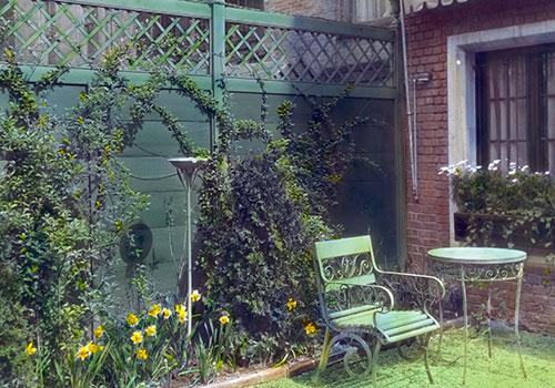 city garden fence