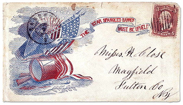 civil war envelope