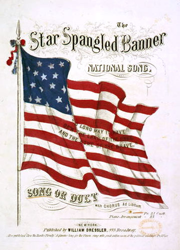 star spangled banner music1