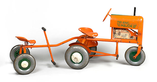 1950s toy tractor