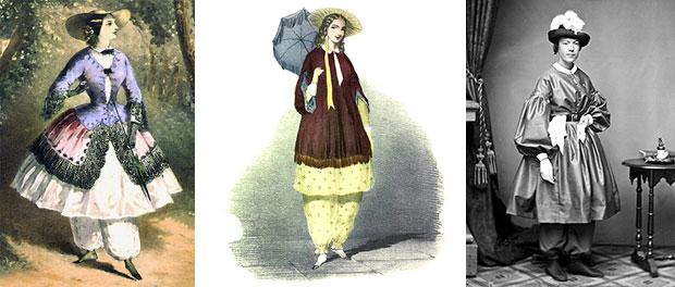 Bloomers A Fashion Revolution Victoriana Magazine