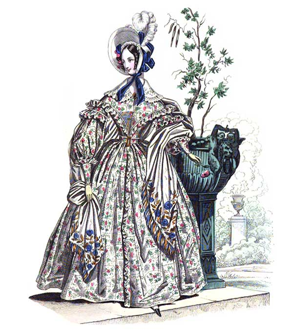 1836 Antique Dress