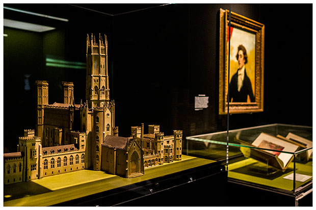 Fonthill Abbey model in Terror and Wonder at the British Library (c) Tony Antoniou